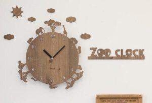 ハンドメイドの時計